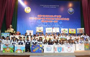 Kế hoạch Tổ chức cuộc thi Khoa học kỹ thuật dành cho học sinh Trung học năm học 2018 - 2019