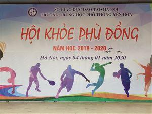 Hội khỏe Phù Đổng năm 2019 trường THPT Yên Hòa
