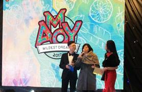 """Đại nhạc hội """"AMOY"""" - Học sinh Yên Hòa tỏa sáng"""