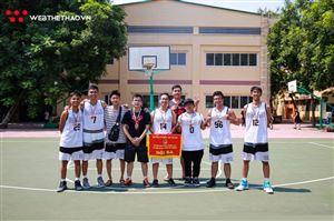 Rapper Phương Cào và đội Da Lab giành hạng Ba tại Yên Hòa Basketball League