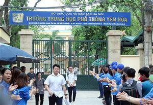 Tuyển sinh lớp 10 Hà Nội: THPT Yên Hòa có tỉ lệ chọi cao nhất