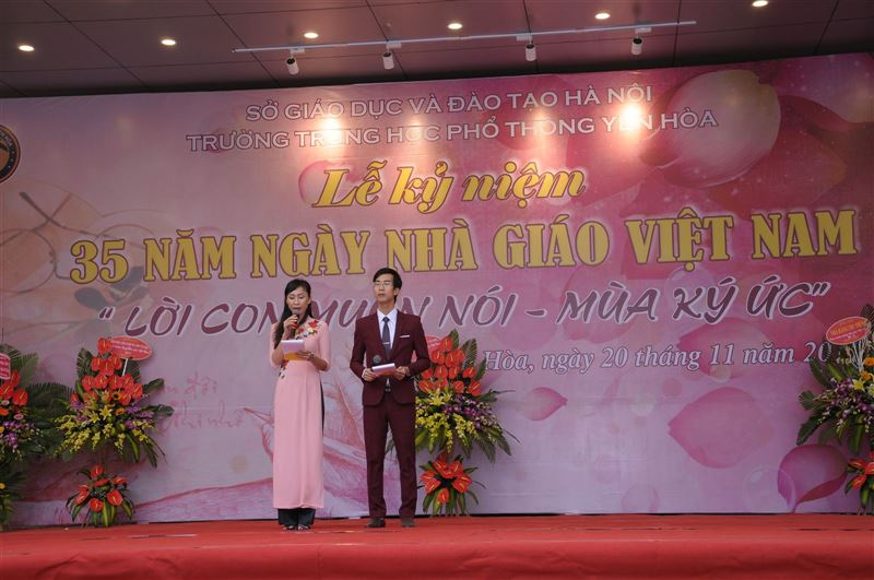 Lễ kỷ niệm 35 năm ngày nhà giáo Việt Nam