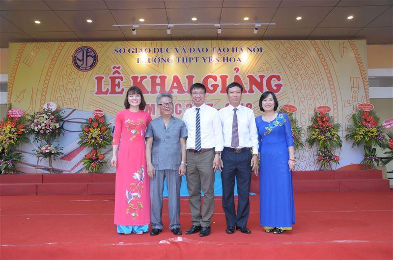 Lễ khai giảng năm học 2017 -2018